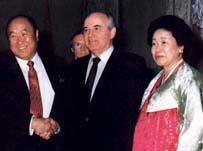 ゴルバチョフ当時大統領との会談